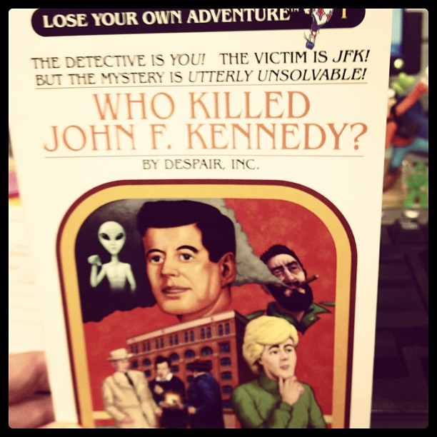 Lose Your Own Adventure!  #1