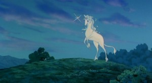 Unicorns are in the world again.  No sorrow will live in me as long as that joy - save one, and I thank you for that part too.  Farewell,  good magician.  I will try to go home.