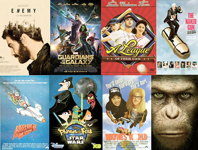 #movies watched in August