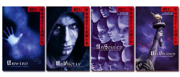 Book Series Thoughts: Unwind Dystology by NealShusterman