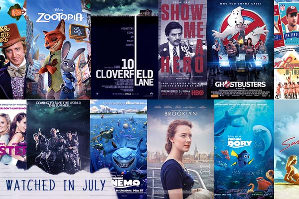 What I watched in July